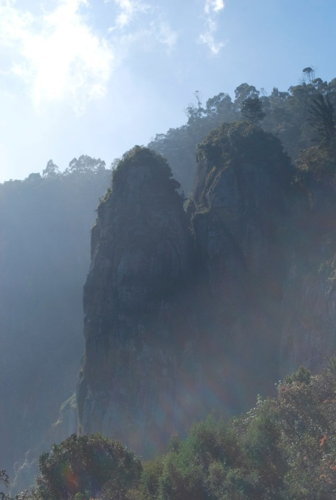 Rock pillar - Kodaikanal