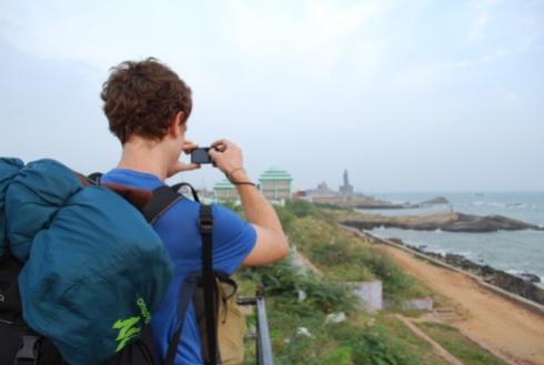 Le bout du monde ou le point de le plus au sud de l'Inde
